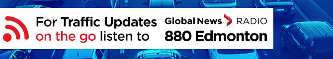 For weather updates on the go listen to 880 Edmonton