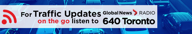 For weather updates on the go listen to 640 Toronto