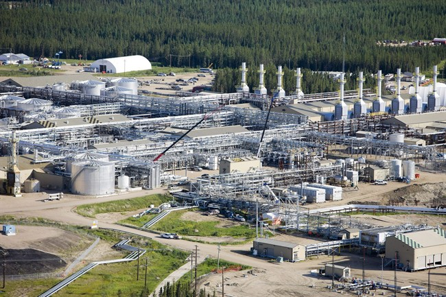 Cenovus Energy's Foster Creek plant site in northeast Alberta is shown in a handout photo.