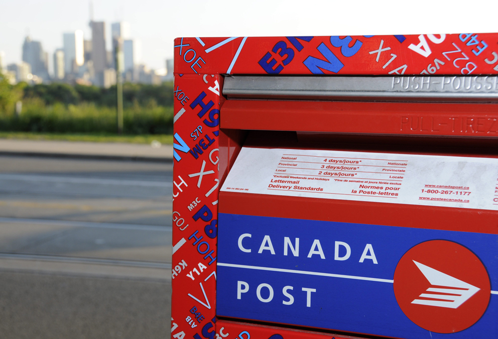 Canada Post sent a letter to Edith and Bob Williams, saying the height of their front steps posed a health and safety hazard to their mail carrier.