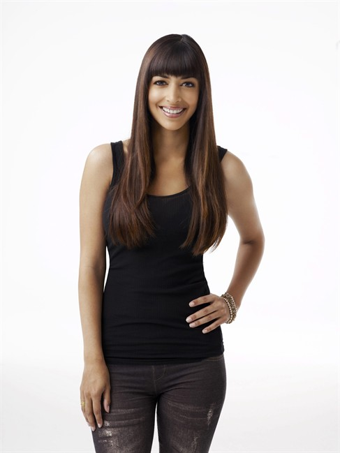"""Actor Hannah Simone stars as Cece in the television show """"New Girl."""" When former model-turned VJ Hannah Simone left MuchMusic three years ago to make her bid for stardom in Los Angeles, all she had was an agent. THE CANADIAN PRESS/HO-Fox TV- Patrick Ecclesine/FOX."""