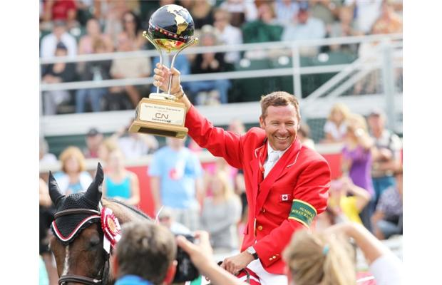 Canada's Eric Lamaze returns to competition after revealing brain tumour battle - image