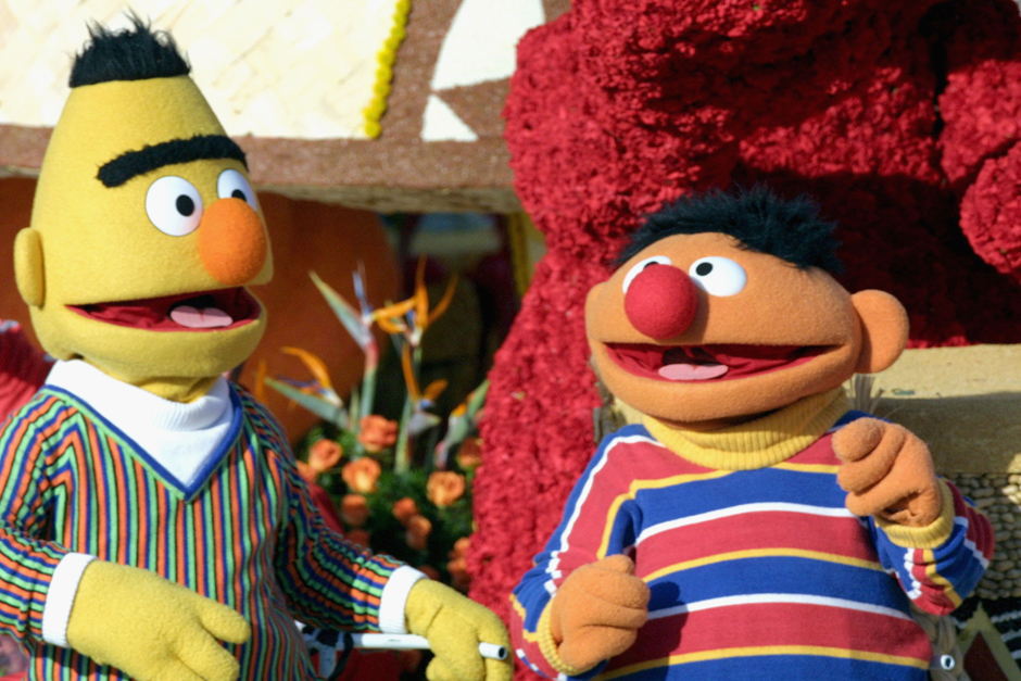 Mately, an STD testing service, used Bert and Ernie in a campaign to promote their company.