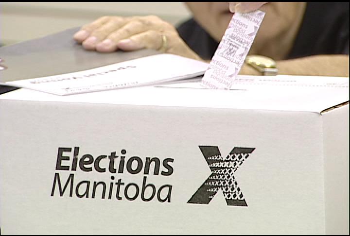 Elections Manitoba ballot box