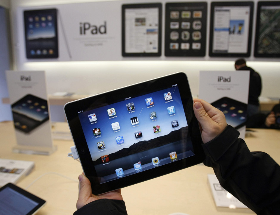 Apple's grip on China's tablet market has loosened as Asian tech companies increase sales with cheaper Android tablet computers.