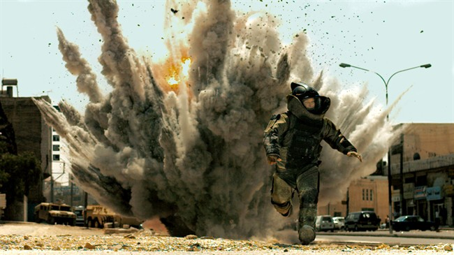 The Hurt Locker is one of the movies people are accused of downloading