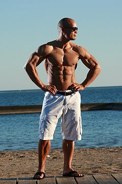 Former Mr. Canada bodybuilding champion Erik Alstrup.