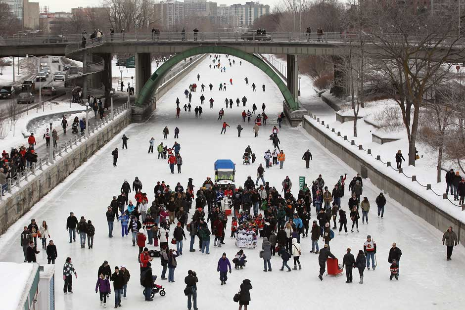 After a record-breaking 59 consecutive days of skating last year, the Rideau Canal Skateway may be facing a much shorter season.