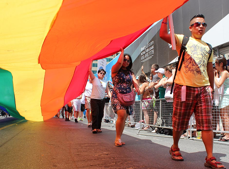 Where and when are the WorldPride parades and marches