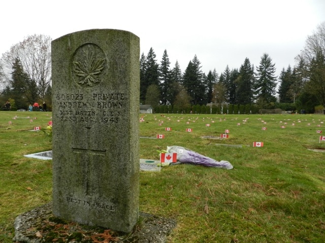 Click on the map below to learn more about where Vancouver's World War 1 veterans were living when they were killed in action.