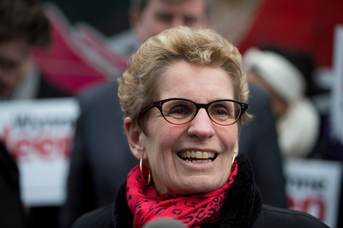 Ontario politics Kathleen Wynne Alan Carter Global News
