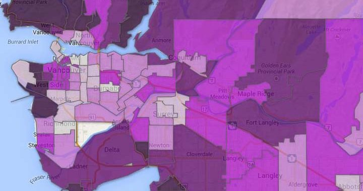 Income By Postal Code Mapping Canada S Richest And Poorest