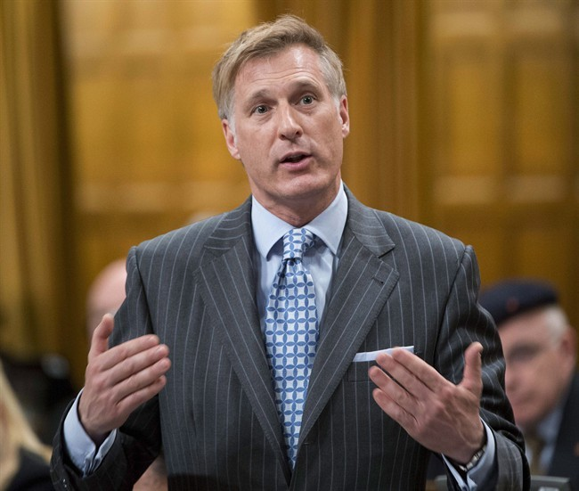 Conservative MP Maxime Bernier rises during question period in the House of Commons Tuesday March 19, 2013 in Ottawa.