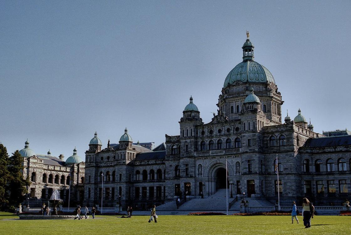 British Columbia Legislature Buildings in Victoria.