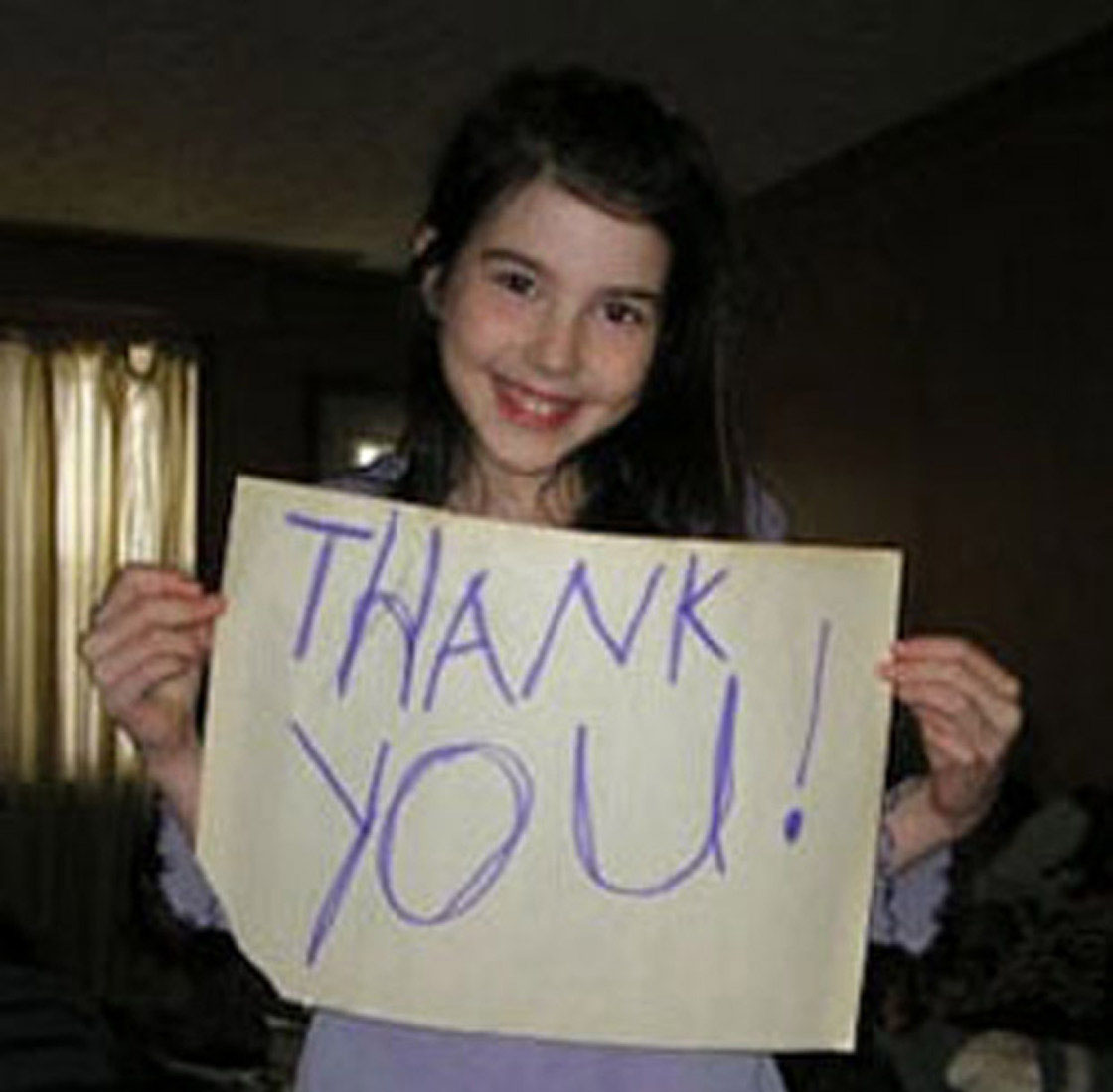 Fourteen-year-old Cassidy Megan, who has epilepsy, came up with the idea of an epilepsy awareness day in 2008.