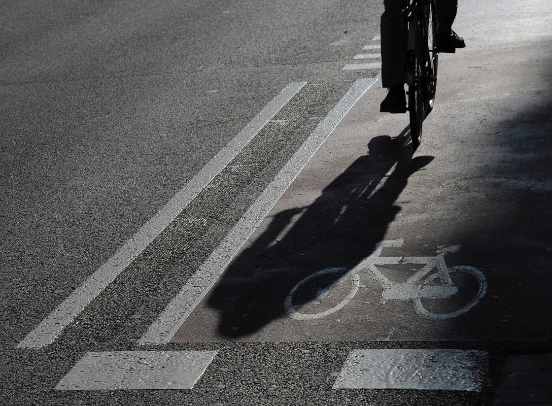 Healthy cities have bike lanes