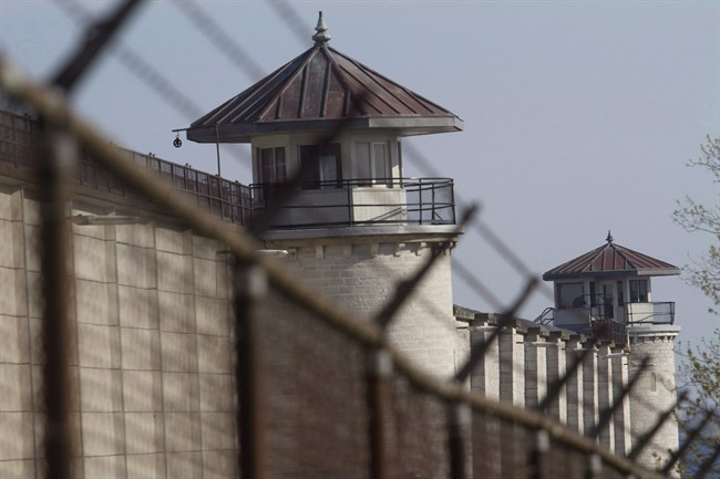 The Kingston Penitentiary is shown in this file April 19, 2012 photo.
