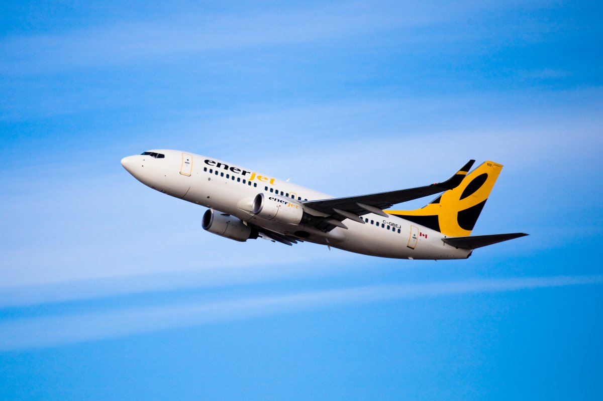 Enerjet will be flying passengers who book with Jump On Flyaways.