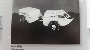 Among Avro's many innovative projects were plans to design a lunar rover (pictured above).