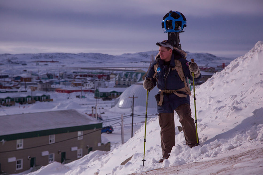Google maps Iqaluit with help from local residents - image