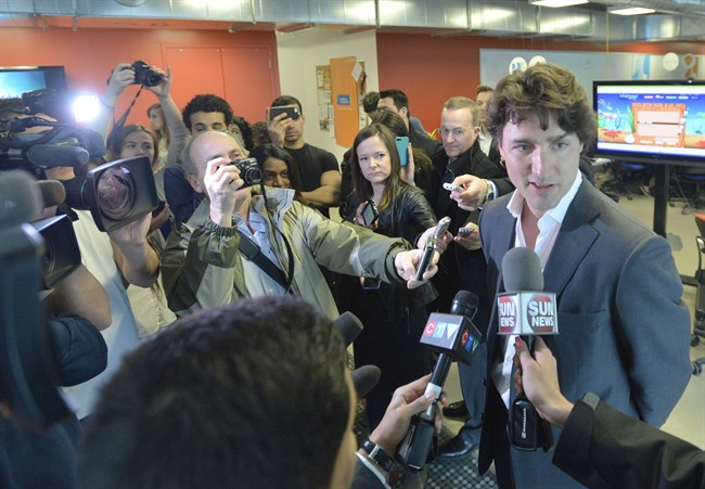 Trudeau: Tories, NDP pandering to 'fringe' - image