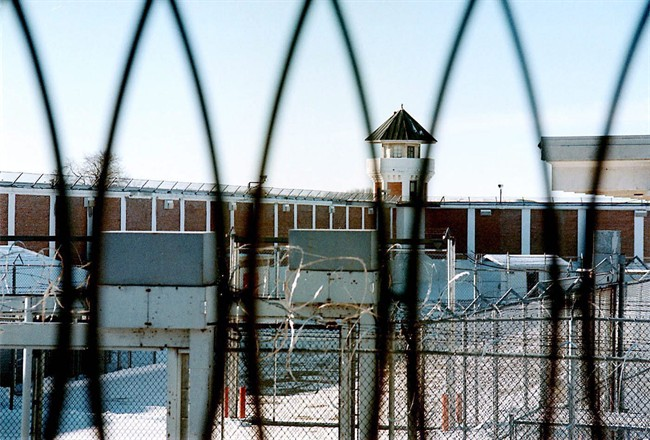 A maximum security unit of the Saskatchewan Penitentiary is pictured in Prince Albert, Sask.
