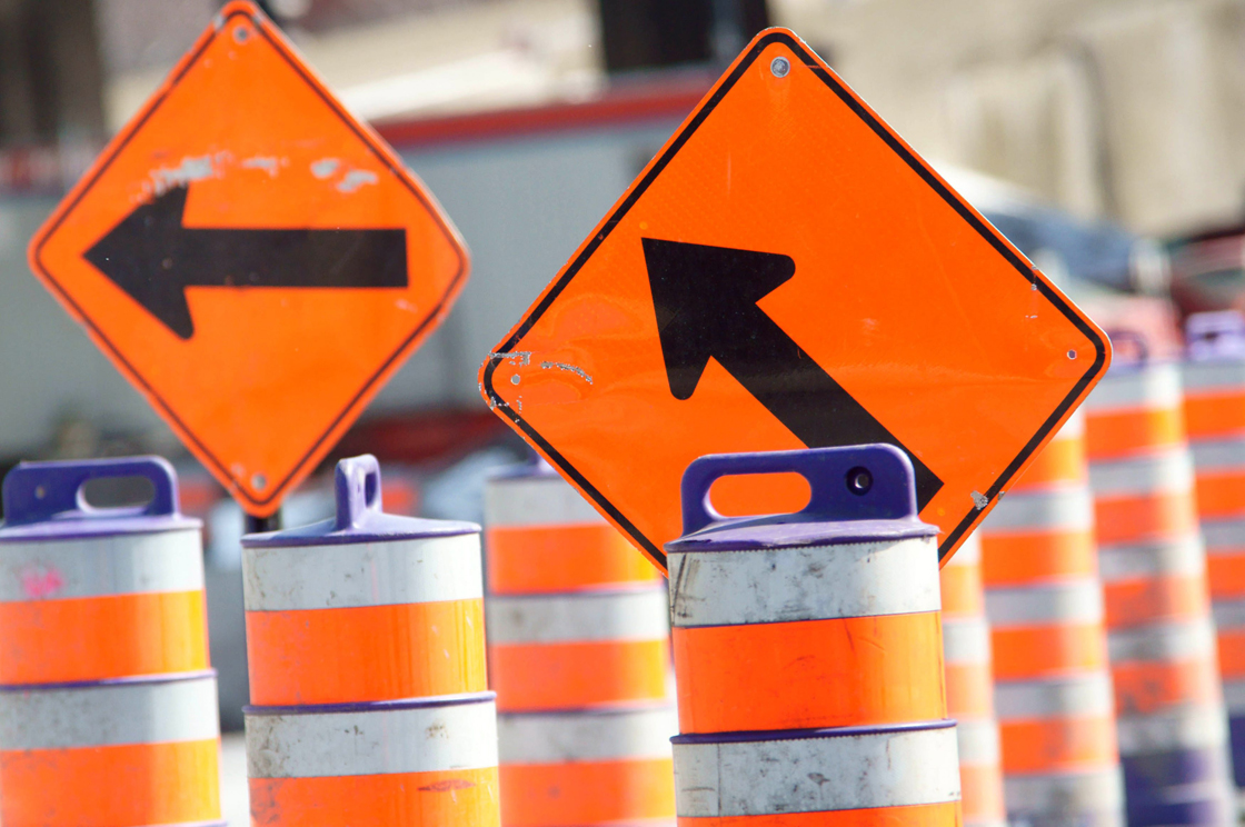 A few streets will be partially or fully closed to traffic during the emergency work.