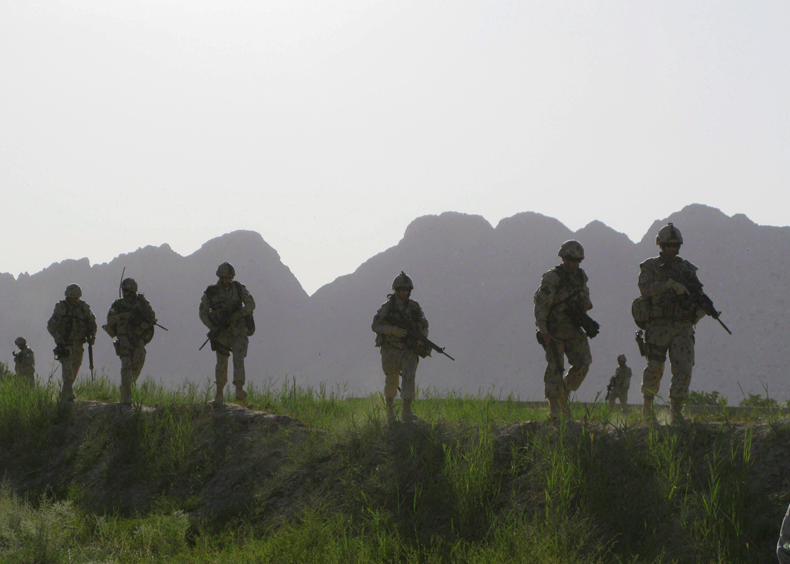 Canadian troops