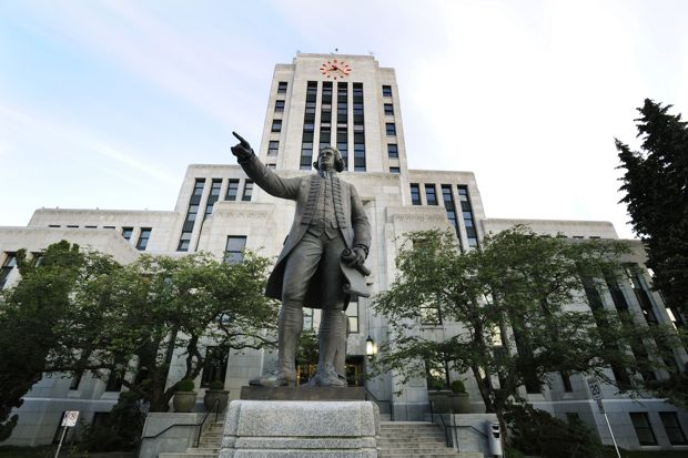 Vancouver's City Hall is one of eight advanced polls.