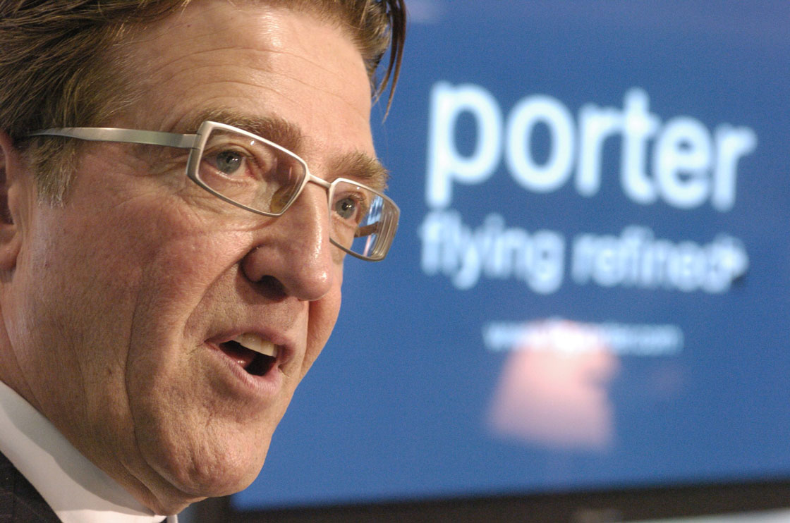 Porter Airlines chief executive Robert Deluce unveiled a plan this week to significantly expand the carrier's service,  but Toronto council will have to approve jet access to the island airport.