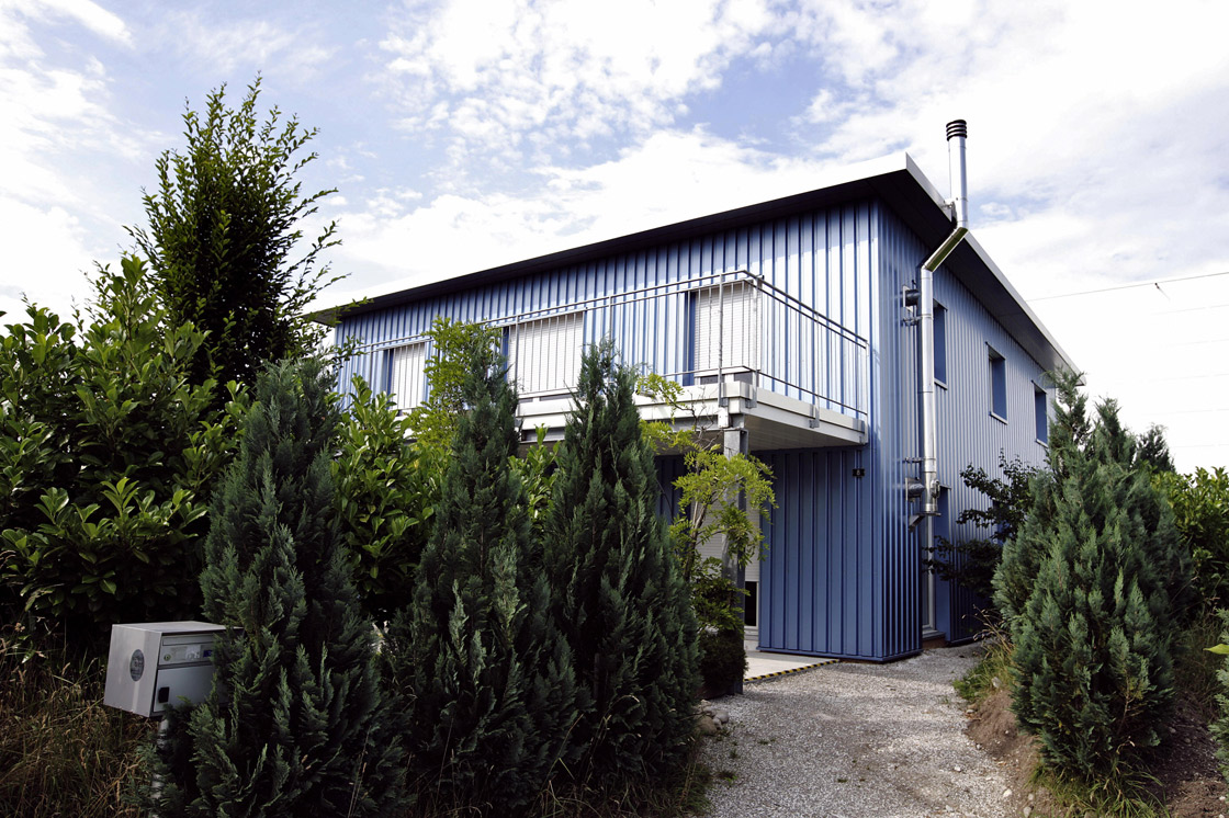 A file photograph of the Dignitas clinic in Zurich, where a family friend says Susan Griffiths, 72, died peacefully April 25, 2013.