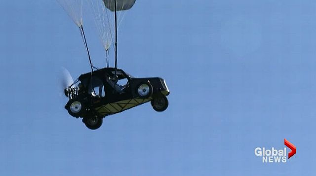 Flying cars grounded until reason for B.C. crash found - image
