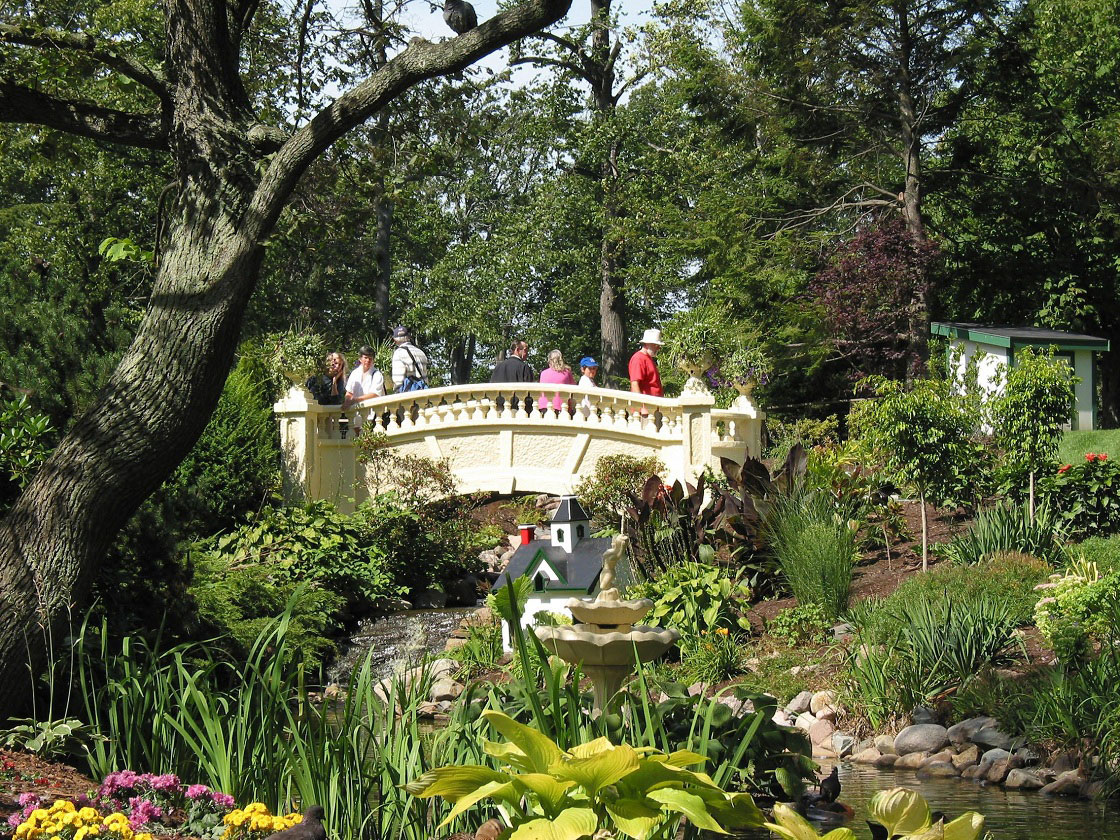 The Halifax Public Gardens reopens.
