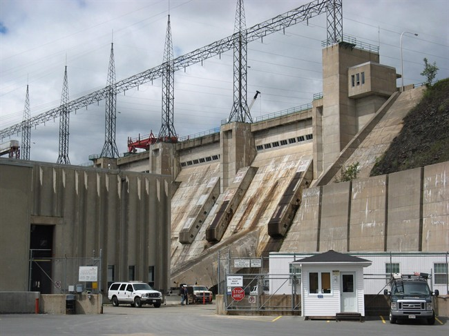 The Mactaquac Hydro Electric Dam is shown near Fredericton on July 27, 2010..