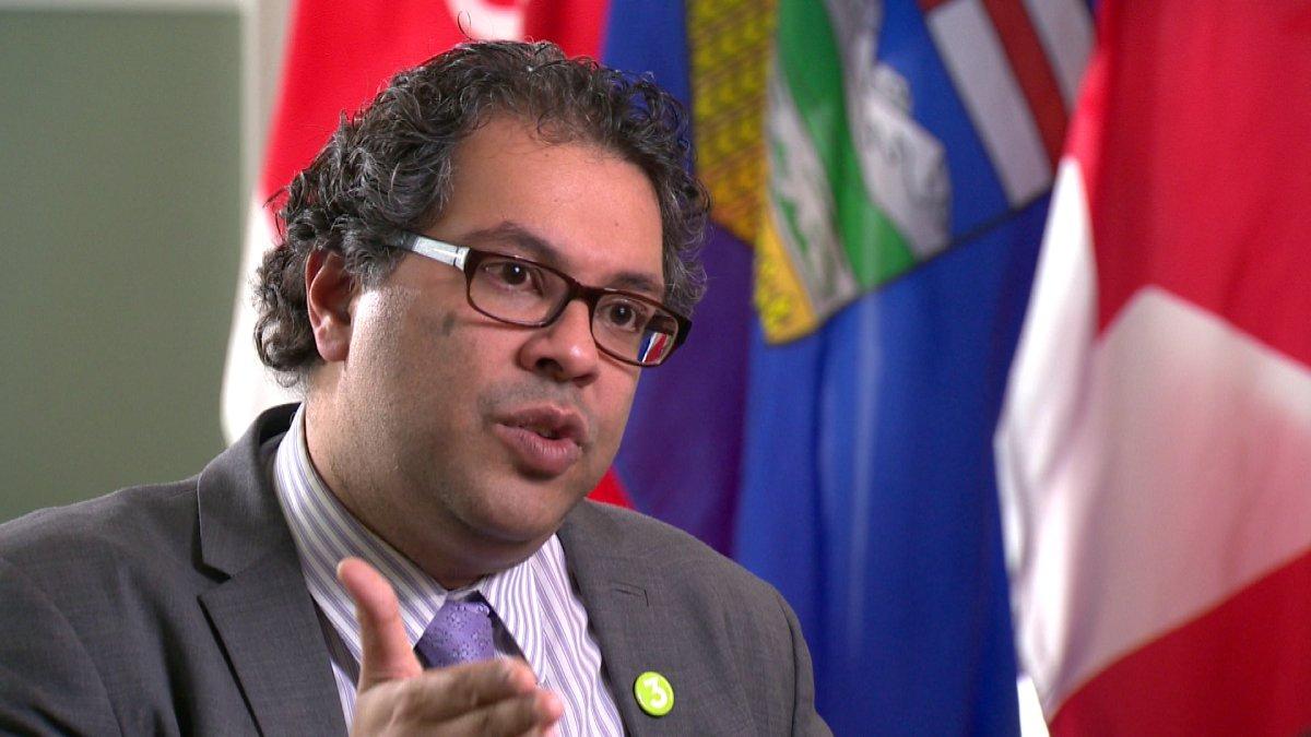 Calgary Mayor Naheed Nenshi.