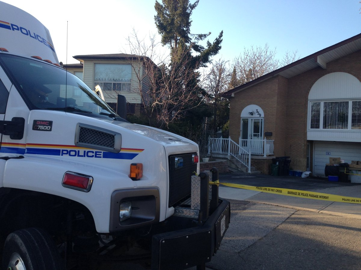 RCMP officers searched Raed Jaser's house late Monday.