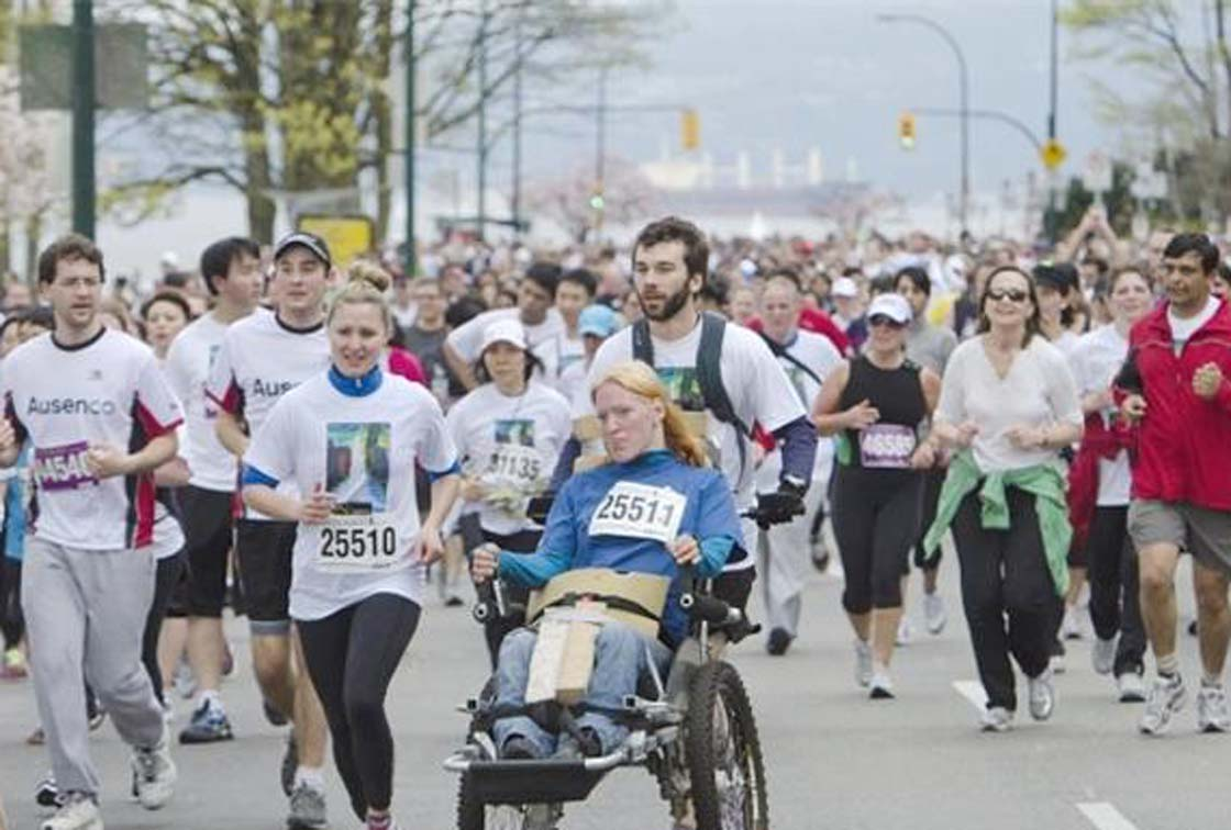 The 2013 Vancouver Sun Run will go ahead this weeknd, says Jamie Pitblado, vice-president of promotions and community investment with Pacific Newspaper Group.