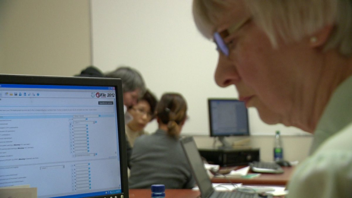 Volunteers are helping low income Reginans file their taxes.