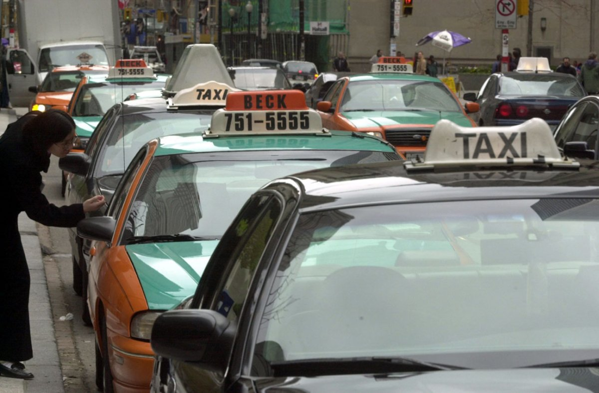A Toronto taxi ride will cost $1 less starting Nov. 1.