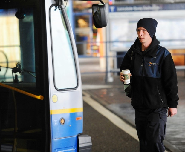 TransLink bus drivers have to pay for their own coffee, which they often must scramble to buy during breaks in their shifts.
