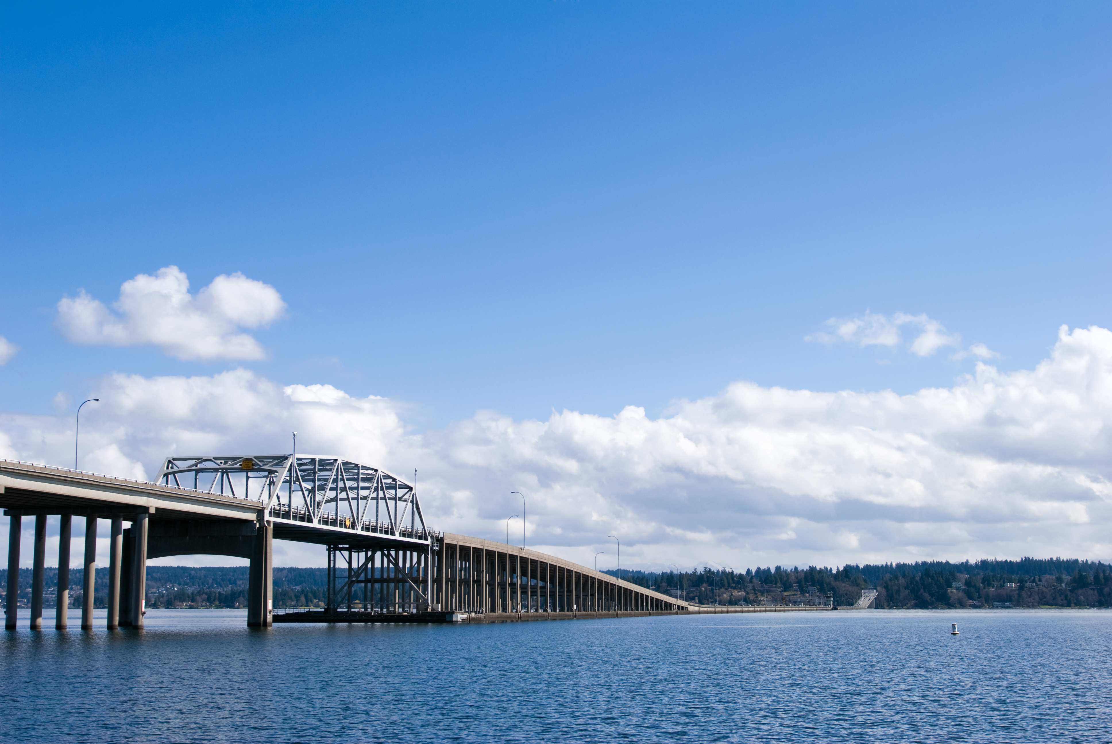 The SR 520, Washington state says, is the longest floating bridge in the world.