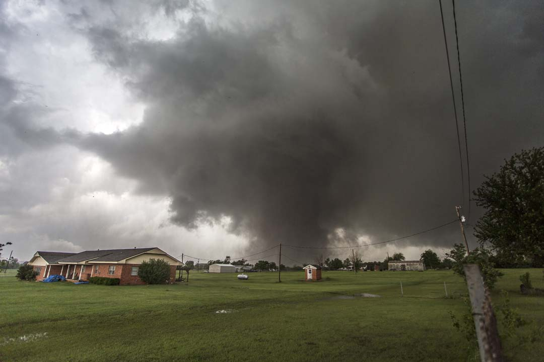 The victims of Friday's storm included three veteran storm chasers. The Storm Prediction Center said the men were involved in tornado research.