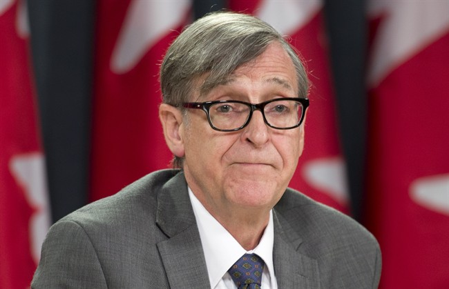 Executive Director of the Council of Canadians Garry Neil speaks about the Federal Court ruling on election fraud during a news conference Friday May 31, 2013 in Ottawa.