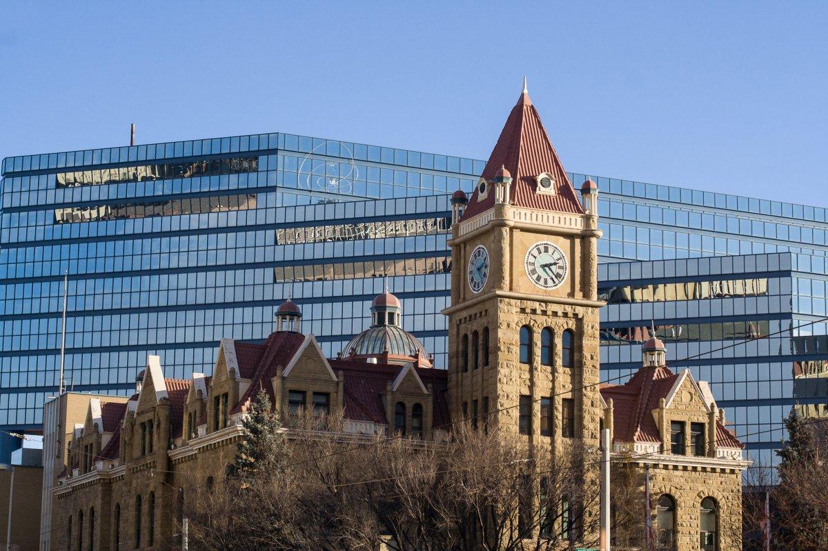 A file photo of Calgary City Hall.