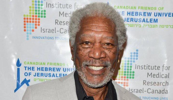 Morgan Freeman attends A Celebration of Excellence at the Toronto Centre for the Arts on May 6.