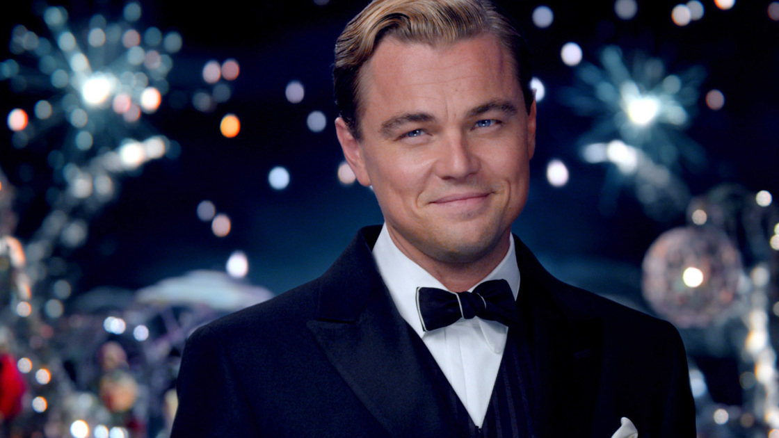 """Leonardo DiCaprio, pictured in The Great Gatsby, called Wednesday a """"historic day.""""."""