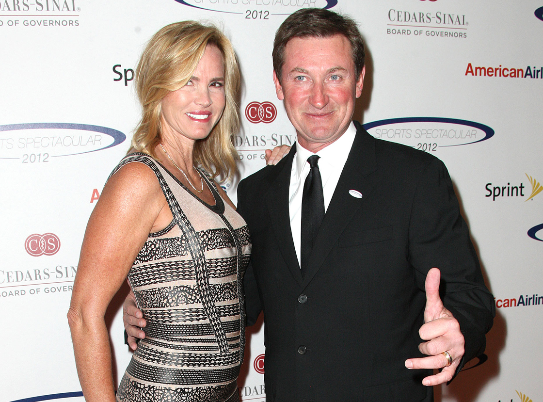 Janet Jones and Wayne Gretzky will celebrate their 25th anniversary this summer.