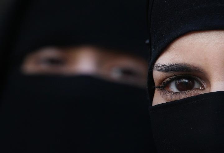 niqab muslim headwear