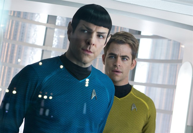 The International Space Station crew received a chance to watch the new film, Star Trek Into Darkness, on Monday. The film will be released later this week in Canada and the U.S.
