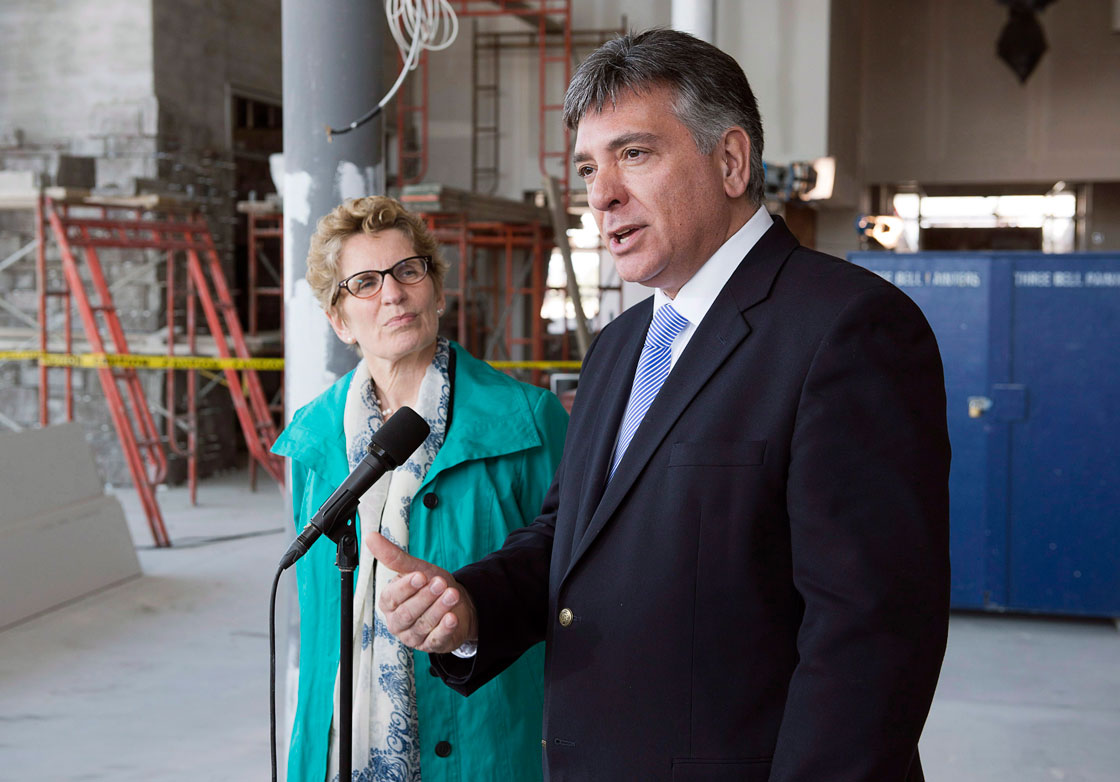 Ontario Finance Minister Charles Sousa is asking Ottawa for permission to extend tax restrictions on big businesses that prevent them from writing off certain expenses, like food and entertainment.